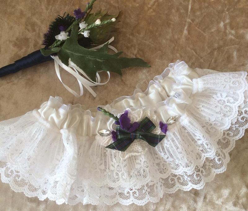 Bridal Atlier Hand made garters