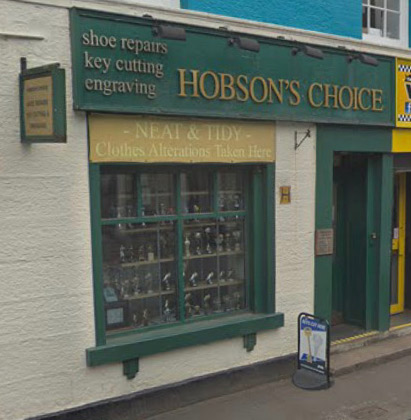 Hobsons Choice front