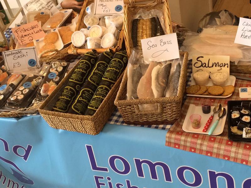 Lomond Fishmongers stall