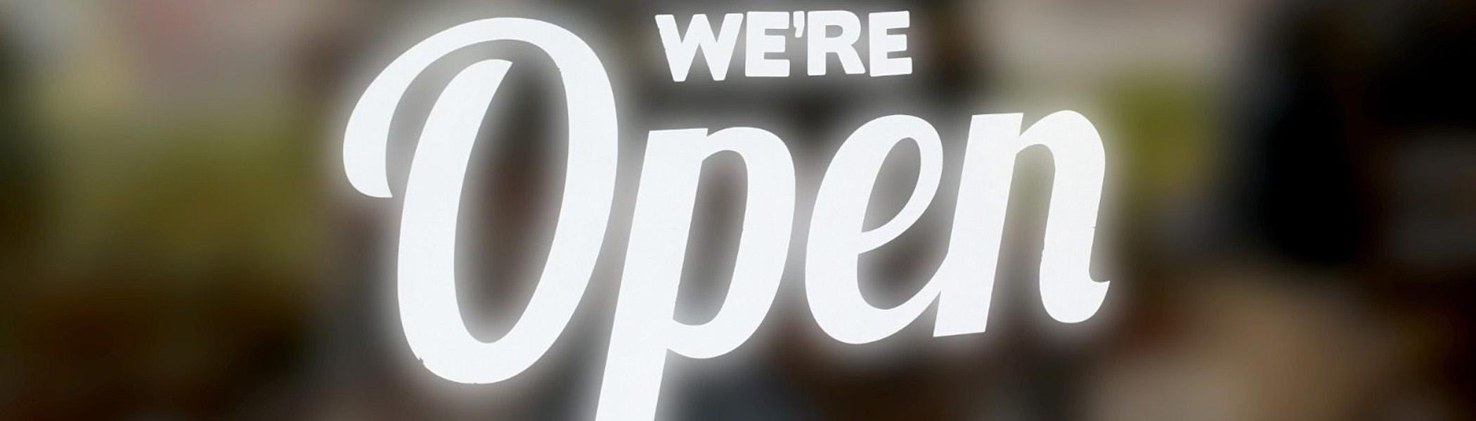 Vale We're Open