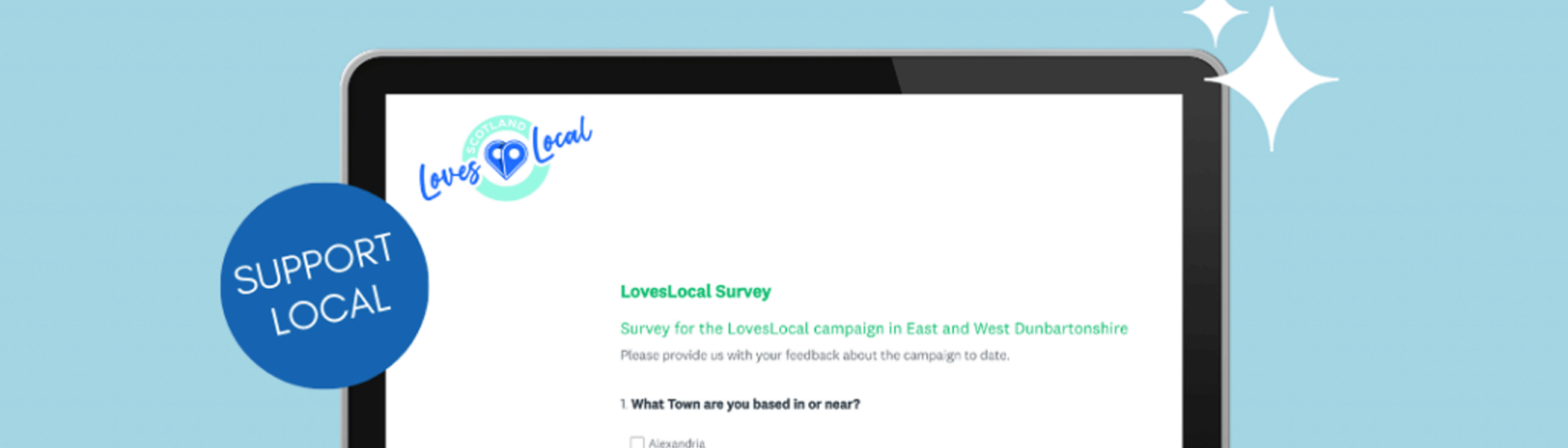Loves Local Feedback survey